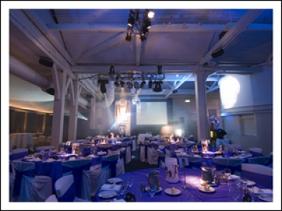 PHANTOS LIGHTING Supplied Fairchild Multimedia with LED PAR, BAR, and Moving Heads