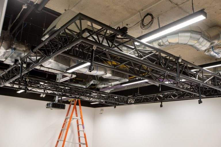 Speakers Truss Structure for UTS in Sydney 3